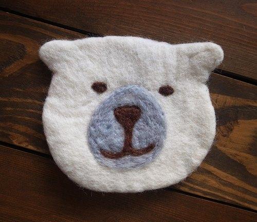 【乐动物】尼泊尔羊毛毡手工杯垫(白熊蚂蚁北极熊)丁丁当当拍子象电子书图片