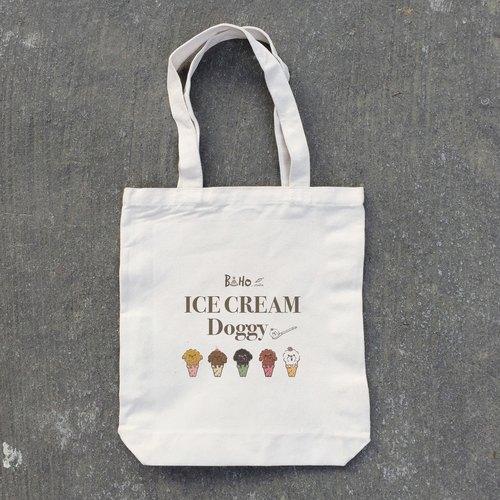 boho帆布包手绘 比熊犬/红贵宾/奶油贵宾/咖啡贵宾/黑贵宾/冰淇淋系列