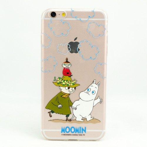 Moomin嚕嚕米正版授權-TPU手機保護殼:【Let's Go】《iPhone/Samsung/HTC/ASUS/Sony/LG/小米 》