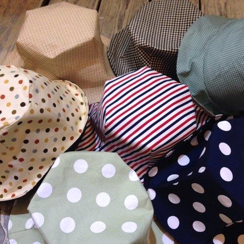 次女艸方 手工獨特訂製帽