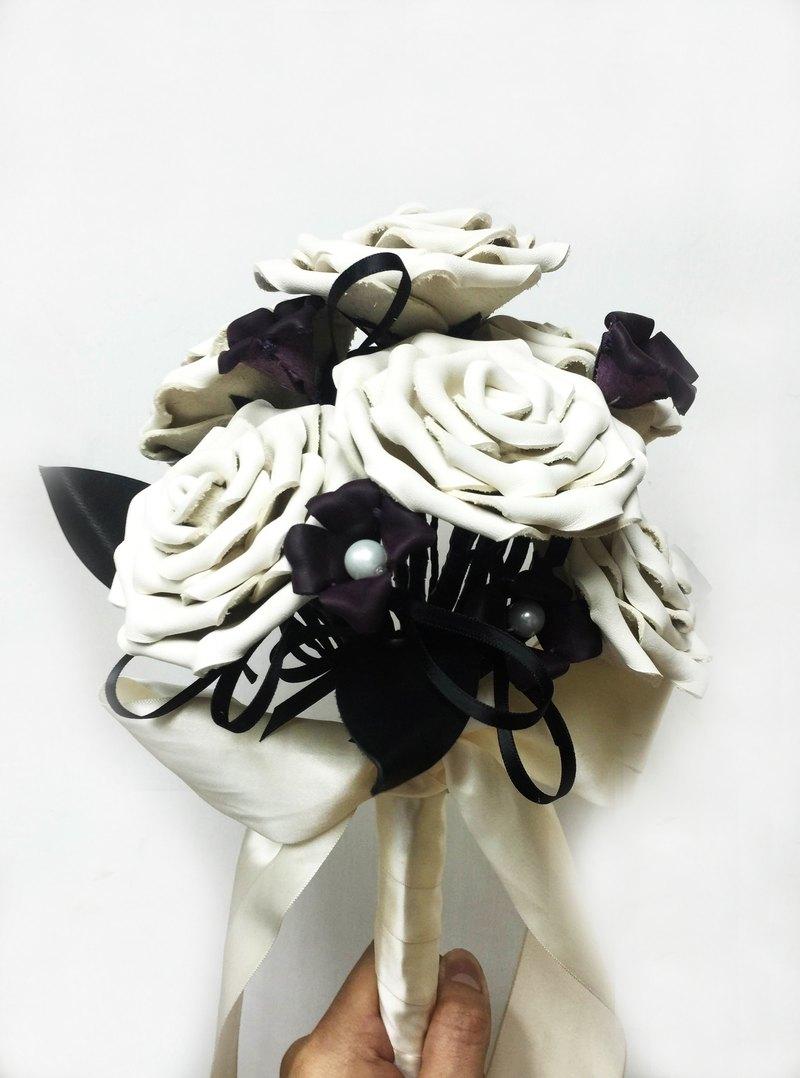 Nine Leather Rose Bouquet Designer Jkcollection Pinkoi