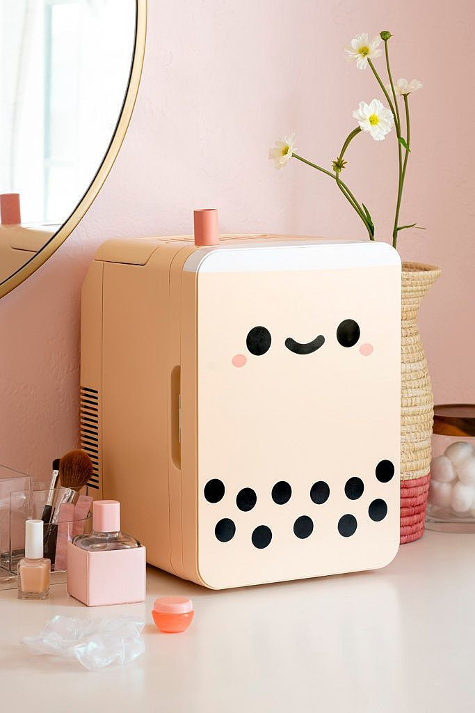 Pearl Boba Tea Mini Fridge