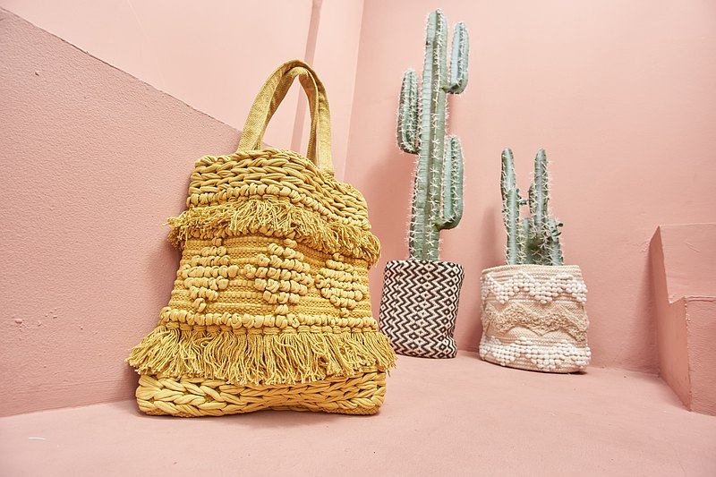 Beach Bag Handwoven