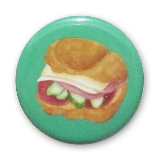 panda雜貨舖 火腿起司可頌三明治