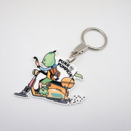 BLR 未來 偉士 VESPA PunkPumpkin 聯名款 鑰匙圈 KR19