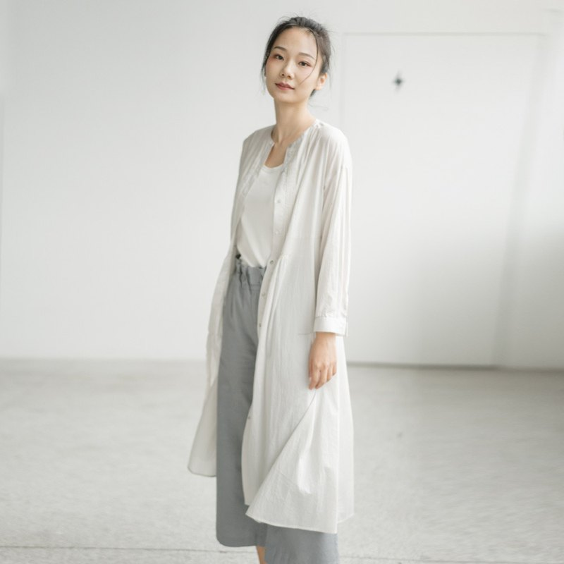 BUFU ultrathin cotton long shirt  SH190102