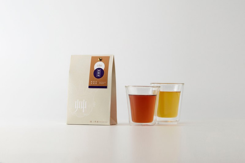 艸-hand filter hanging tea bag | integrated tea purse 6 into