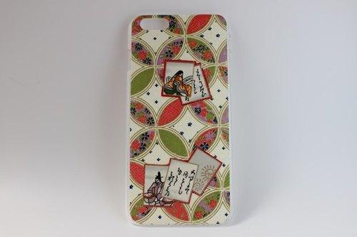 七宝文様和紙6Plus iPhoneカバー