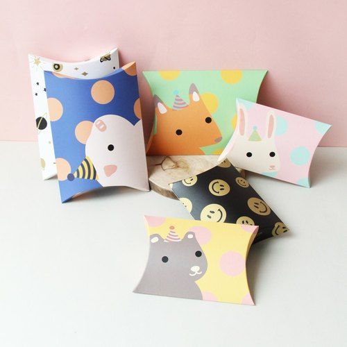 u-pick原品生活 创意可爱手作diy礼物包装袋 礼品纸盒