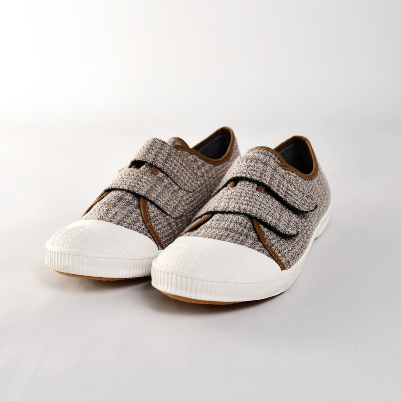 Seasonal discount casual shoes - ABBY wool brown