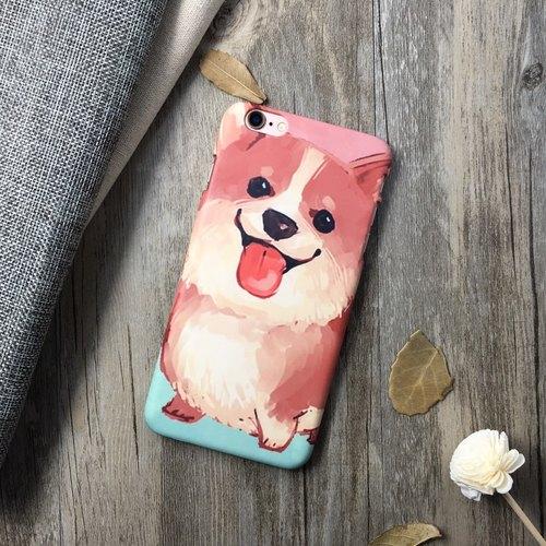 手绘大柯基-iphone 6/6s 手机壳/保护套