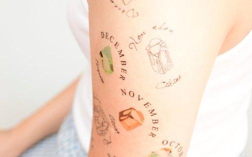 纹身图案手背线条