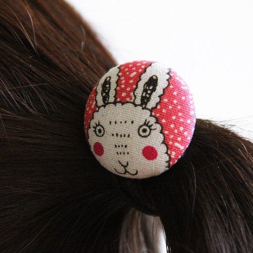 环保风可爱动物发束包扣~爱不释手 黑发束 弹性绳 发圈 黑手环 绑发