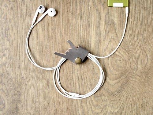 iphone耳机线收纳
