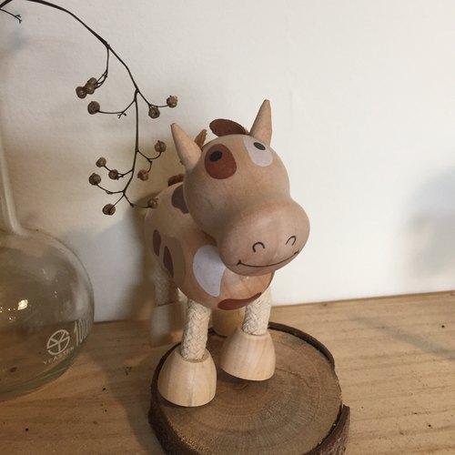 木制小动物 -乳牛