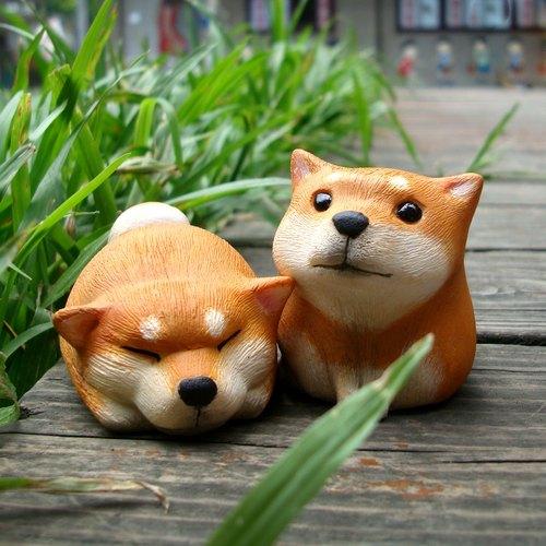 療癒圓滾滾系列-柴犬ShibaInu(赤柴/白柴)