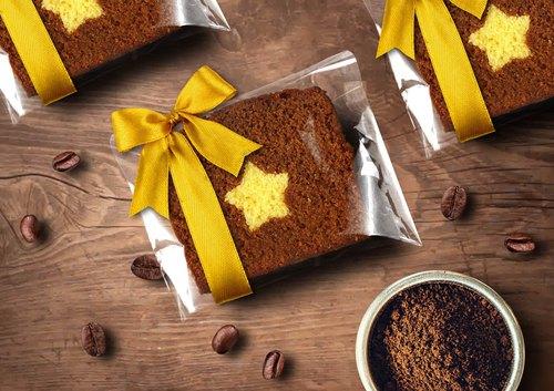 【桃德先生手工布朗尼專賣】香草咖啡藏星磅蛋糕