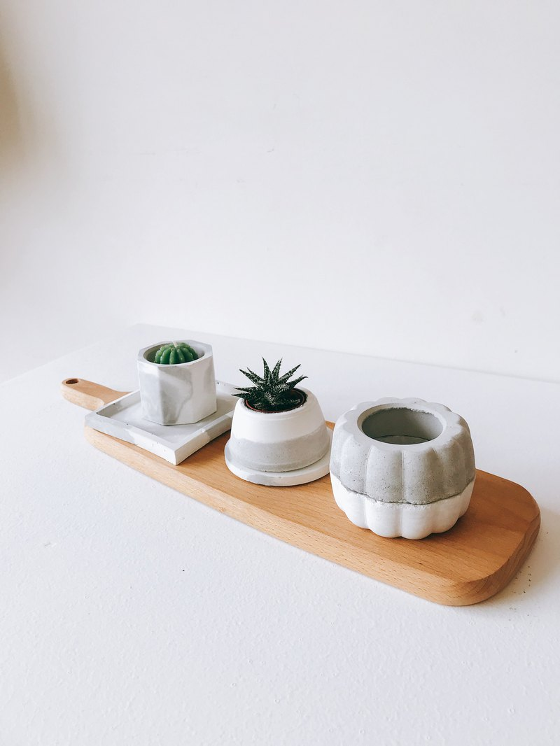 水泥花盆-瓜型白色盆器,多肉酒架-设计师娜泥南瓜的酒窖设计图图片