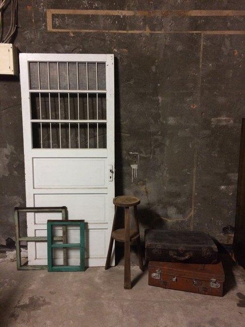 即时拍老木窗户木门片行李箱皮箱金工业风乾燥花盆古道具乡村杂货