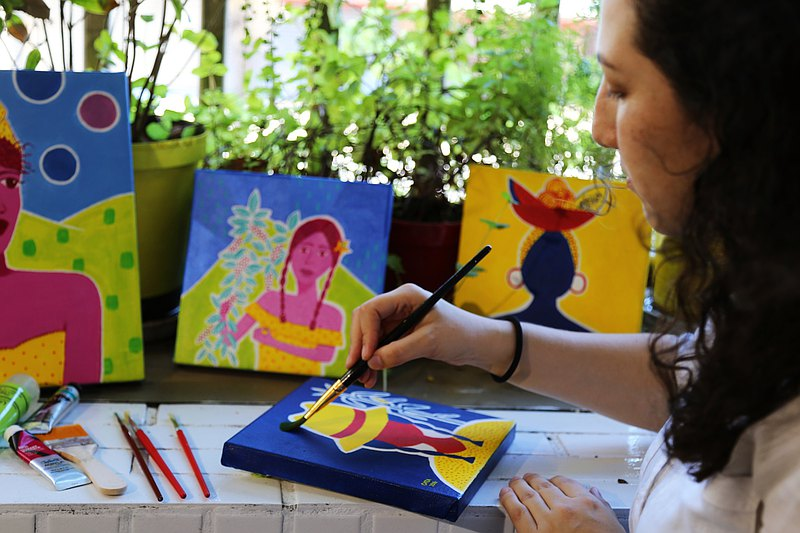 Colombian Painting | Exotic Art Activity Experience