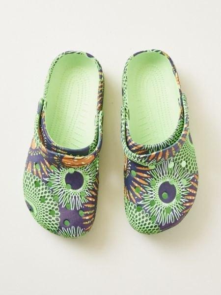【预购中】70非洲花纹布希鞋70