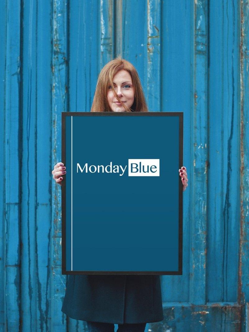 18x24 poster frame blue