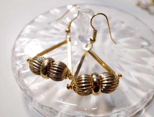 純金時代耳環
