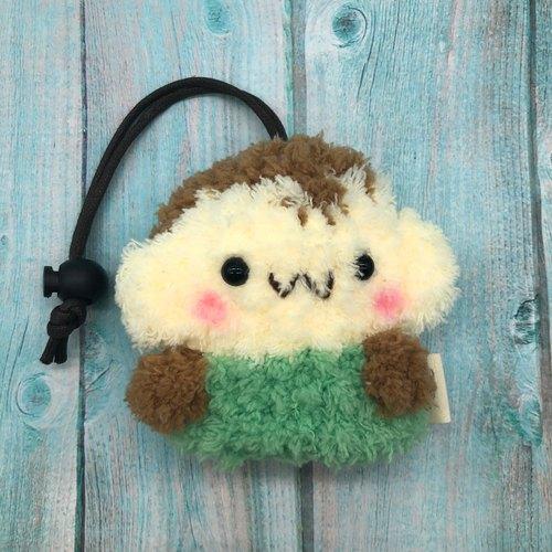 棉花糖动物钥匙包-小钥匙包(小猴子)