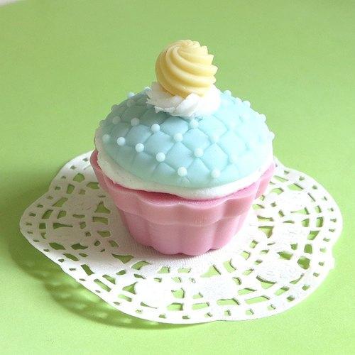 奶油珍珠杯子蛋糕皂礼盒(mca02) - milove手工皂
