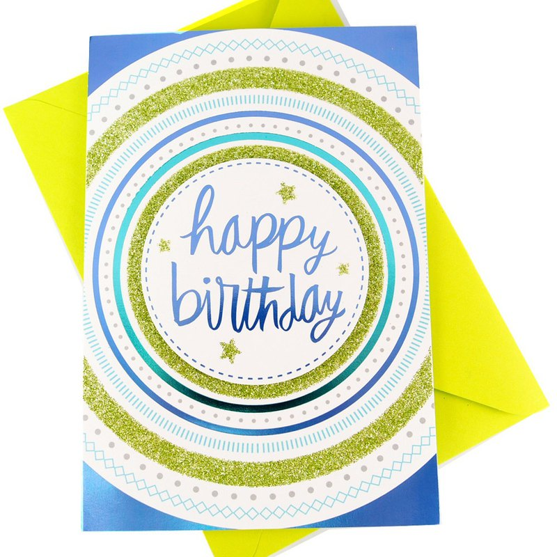 Dance A Waltz Hallmark Signature Classic Handmade Series Birthday Wishes
