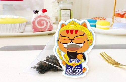 《貓癡茶》好神保庇 系列單品茶包|關公 - 事業長紅阿薩姆