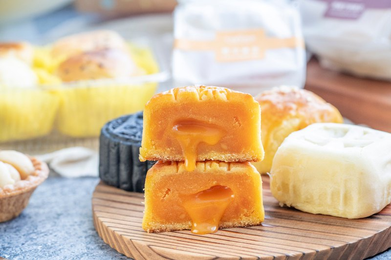 Mid-Autumn moon cake gift box - integrated flow core