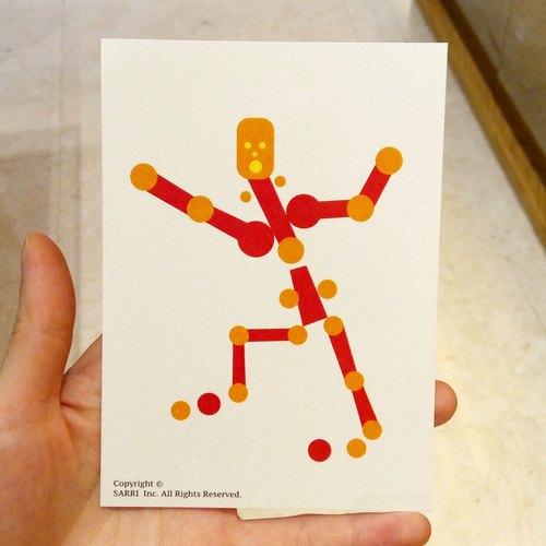 「dance」(可制作a3大小的海报) 生日卡 设计 著色 插画 绘本 卡片 万