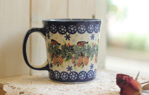 陶藝杯子手繪圖案