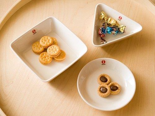 芬蘭iittala Teema白色系 點心/小吃盤三件組 12*12cm 父親節禮物
