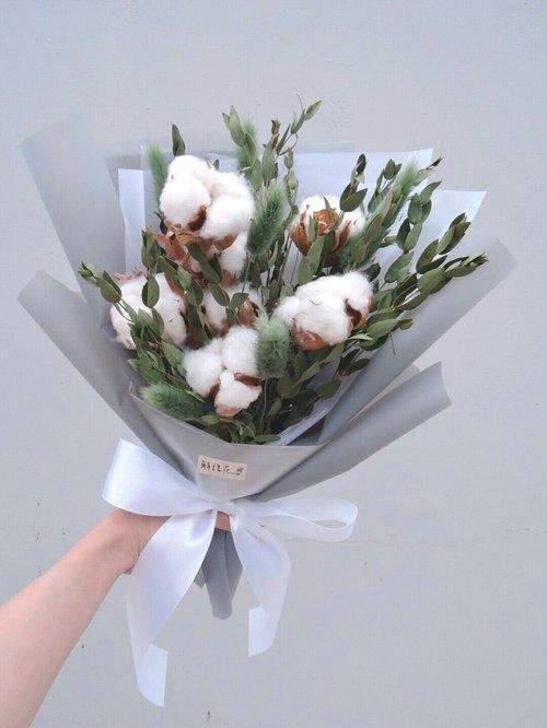 透明包装纸 一般纸箱包装&胶带固定 花束类:包花材用之包装纸或报纸图片