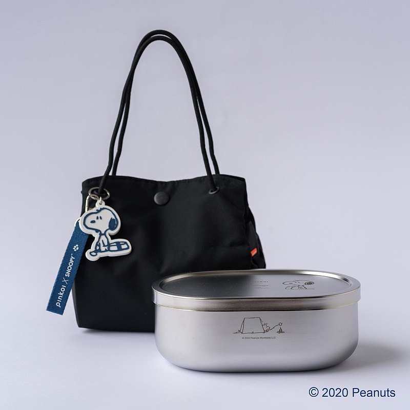 [The second wave of pre-order] Yuanyuan Gangyi X Stainless Steel Lunch Box Set·SNOOPY Taiwan Flavor Daily
