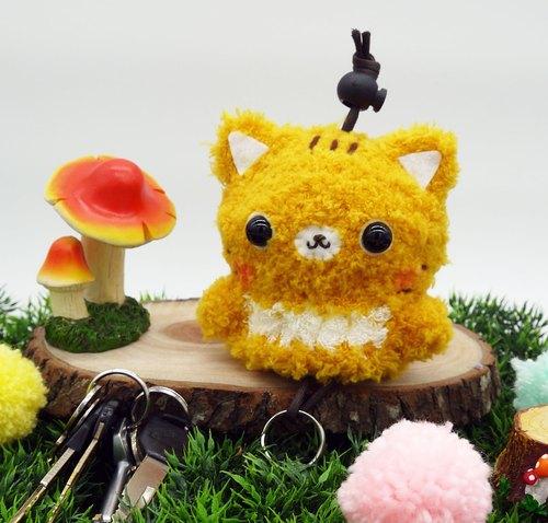 钩针钩织可爱动物图片