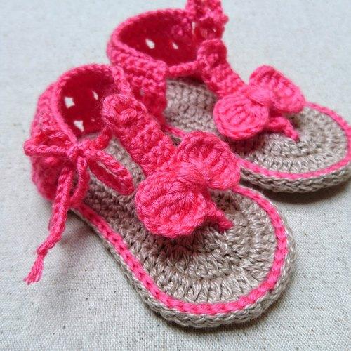 【慢.织手作】编织婴儿鞋-小蝴蝶(现货)/弥月礼
