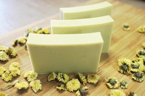 [蕾安柏]洋甘菊親膚皂。天然手工皂。無添加。沒有香味。寶寶用