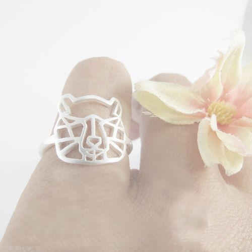 Geometric Bear ring