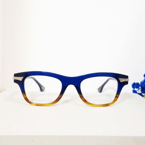 [Objective Programmes firm] Japanese exquisite handmade thick-framed glasses frame glasses 4 color plates of Italy