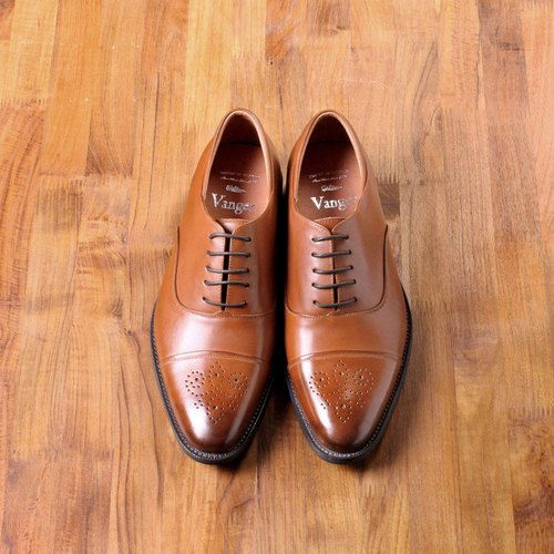 Vanger elegant and beautiful ‧ simple waxed Oxford shoes Va207 red brown Taiwan