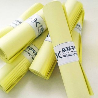 Paper tape scraping paper release paper (W16cm × L36cm × 30 sheets) paper tape, special for the account