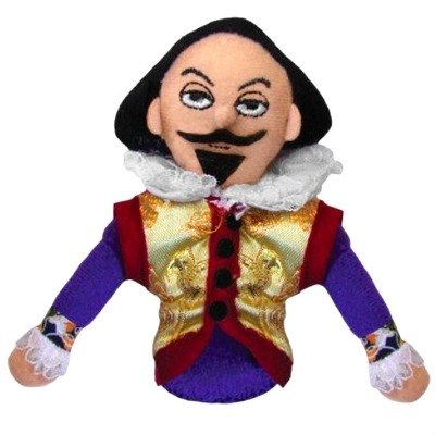 Shakespeare magnetic finger puppets