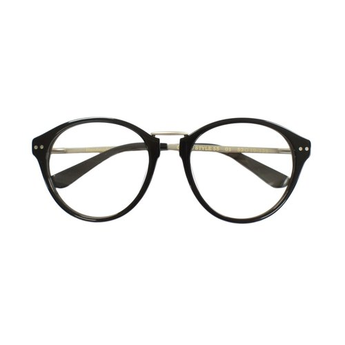 Hand retro large-framed glasses frame plate