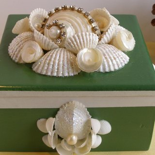 Shell Sea**Tony precious collection box**storage box jewelry box