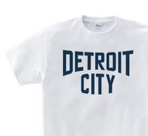 Detroit CITY WS ~ WM • S ~ XL T-shirt order product]