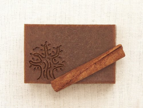Cinnamon soy milk soap