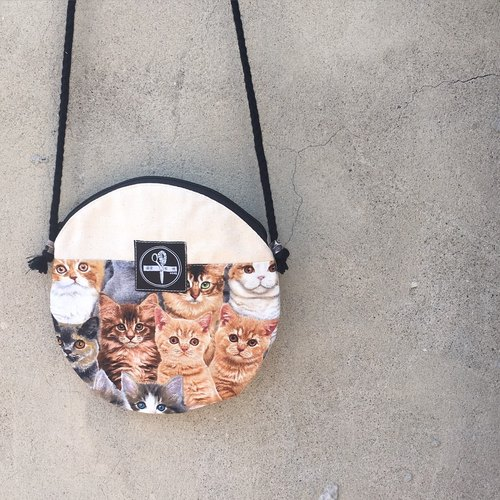 toutoubags/ big pie bags-cats
